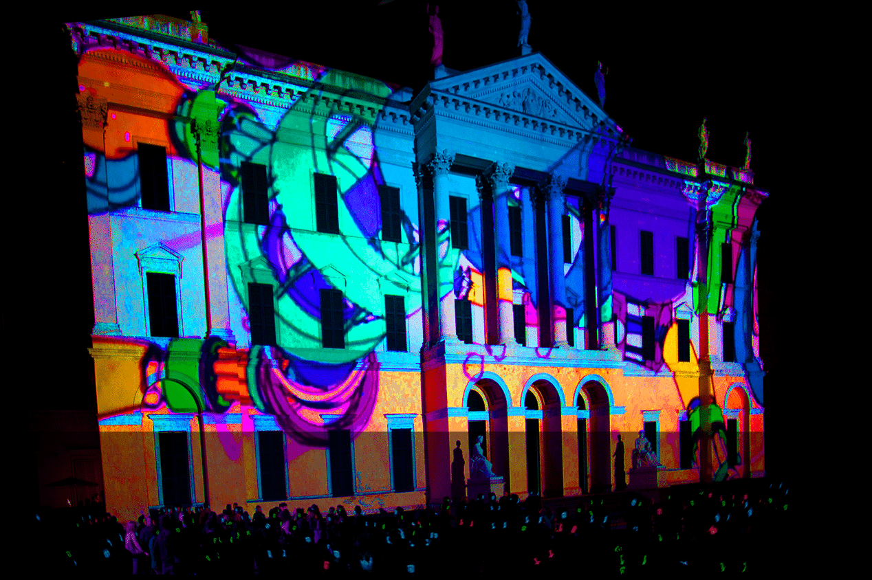 Video Mapping Silentsystem